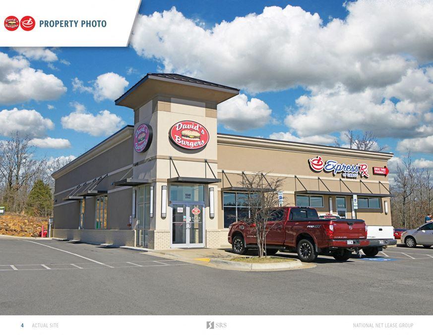 Cabot, AR - David's Burger & Express RX