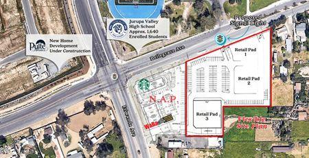 3.26 Acre Proposed Retail Development - Mira Loma
