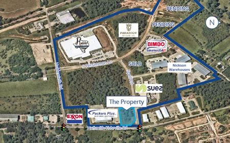 For Sale   ±1.7484 Acres SWC Spell Road & Hufsmith-Kohrville Road - Tomball