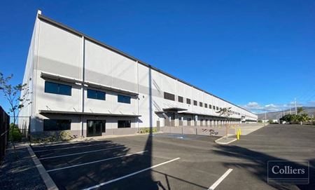 Campbell Industrial Park - Hanua Distribution Center for Lease - Kapolei