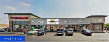 Retail Space for Lease - Divisible - Evergreen Park