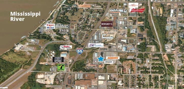 Truck Terminal on +/- 9.95 Acres - 185 W. McLemore Ave., Memphis, TN 38105