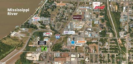 Truck Terminal on +/- 9.95 Acres - 185 W. McLemore Ave., Memphis, TN 38105 - Memphis