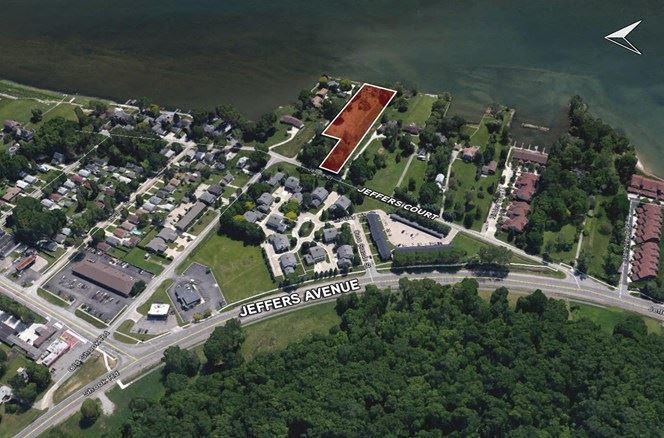 For Sale > 1.55 Rare Residential Acreage with Lake St. Clair Frontage Harrison Township MI