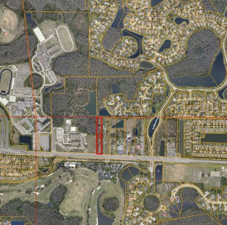 Zoned RSC-4 -  2   AC Land on Lutz Lake Fern Rd Near TPC - Lutz