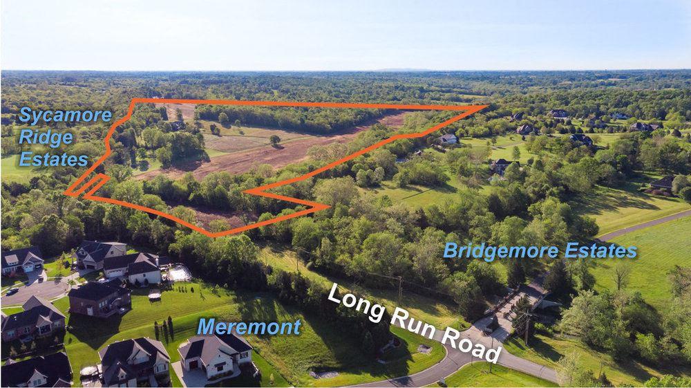 Long Run Road Subdivision Land