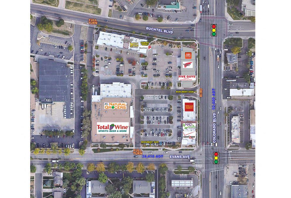 Evans Avenue and Colorado Boulevard - NWC