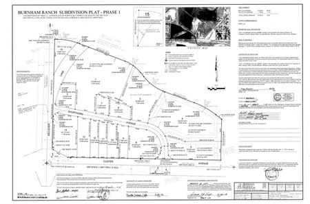 Phase 1 Burnham Ranch Subdivision - Helena