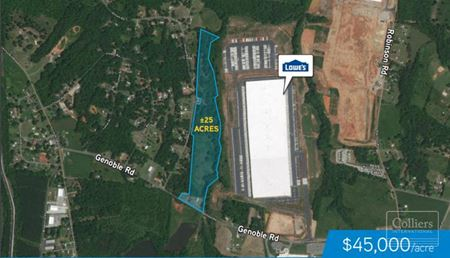 ± 25 Acres in Duncan, SC - Commercial Development Land - Duncan