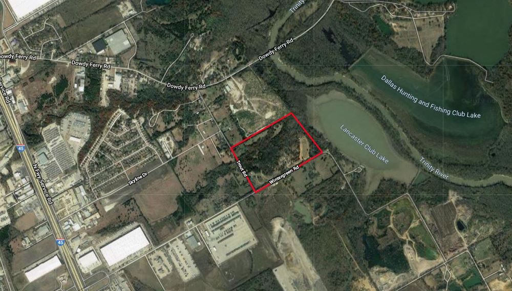 45 Acres for Sale in Hutchins