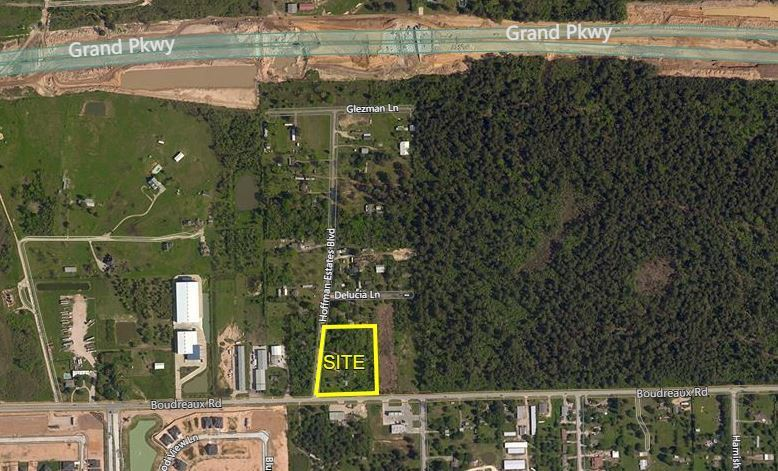 3.92 Acres of Land on Boudreaux Road Build-To-Suit