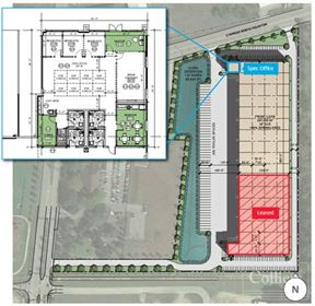 For Lease   50,000 SF - 207,635 SF Class A Industrial Building