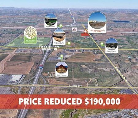 8.75 ac Development Land for Sale - Thornton