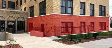 For Lease > Retail / Office  - Garden Level Suite - Rainer Court Apartments - Detroit