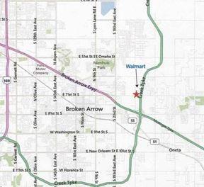 NE Crossroads Outparcels For Sale - Broken Arrow