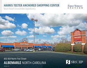 Albemarle, NC - Harris Teeter Anchored Multi-Tenant Shopping Center - Albemarle