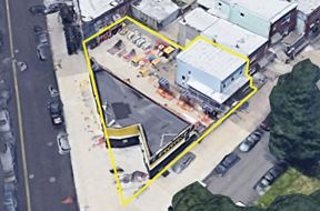 2,080 sf Commercial Building With 3,200 sf Land For Lease - Brooklyn