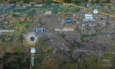 For Sale or Lease > 3.26 Acres for Build-to-Suit - Hillsboro