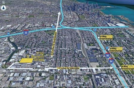178,850 SF Planned Construction for Lease in South Chicago - Chicago