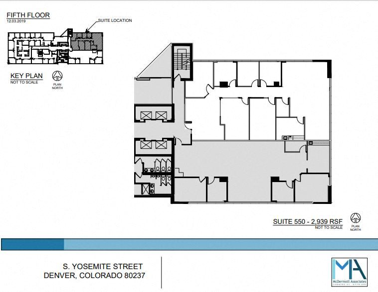 2939 SF Professional and Medical Office Space in Denver, CO 80237
