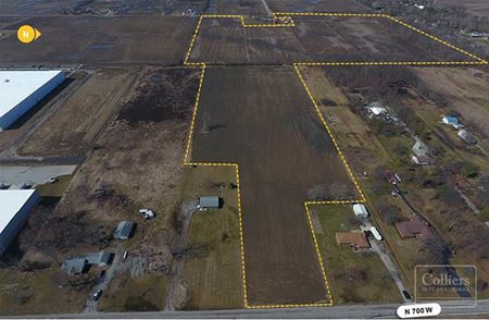 Industrial Development Land in Mt. Comfort - Greenfield