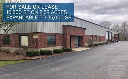 10,800 SF Building (Expandable to 35,000 SF) for Sale or Lease in McHenry, IL - McHenry
