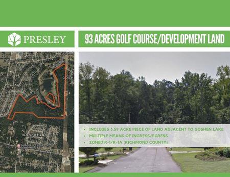 93 Acres of Golf Course Development Land - Augusta