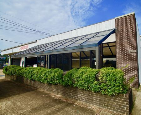 Dixie Glass Building - Jackson