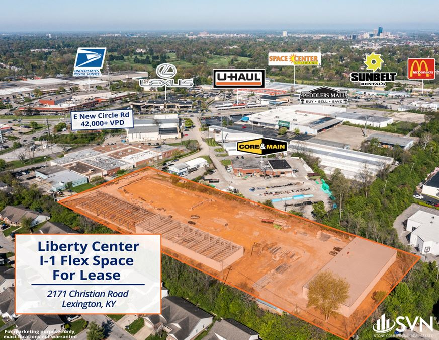 Liberty Center Industrial Flex Space Available For Lease