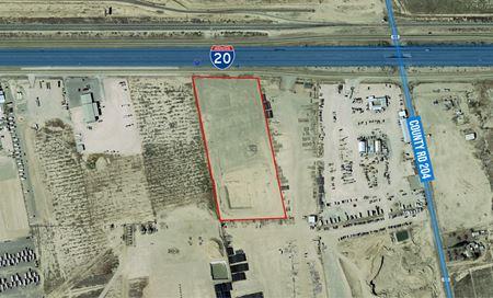 10 Acres, Stabilized & Fenced, I-20 Frontage - Pecos