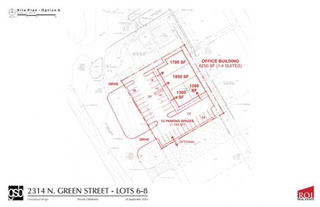 Build to Suit | 2314 N. Green Ave.  Purcell, OK - Purcell