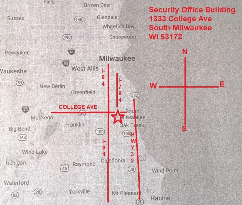 Tom Potisk | Security Office Building
