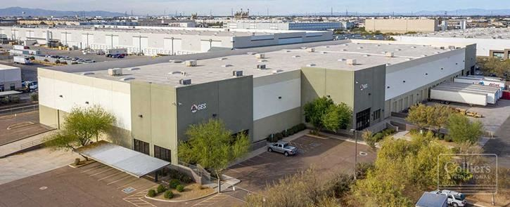 Industrial Distribution Space for Lease in Southwest Phoenix