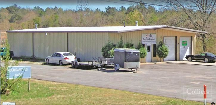 DeSoto Industrial Submarket - 2 Buildings Totaling 12,548 SF on 20+/- AC for Sale