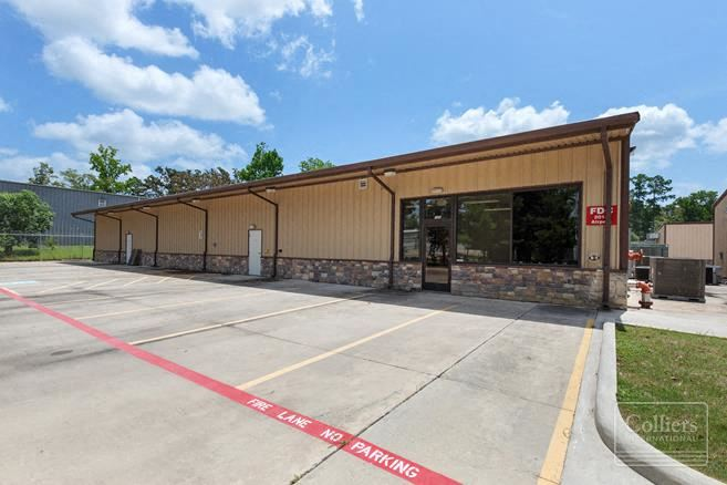 For Lease | Office / Warehouse Space in Conroe, Texas