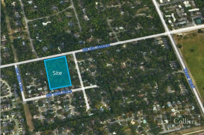 5.3 Acres Available