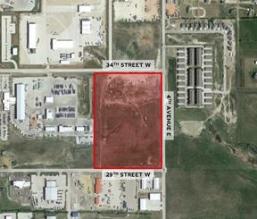 28 AC Industrial Zoned Land - Dickinson