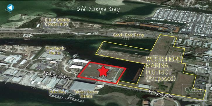 12+/- Acres in South Tampa Marina District