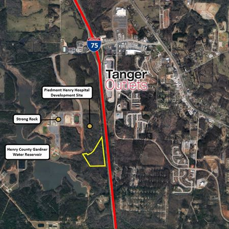 PD Zoned Commercial Land  | 17.5 Acres - Locust Grove