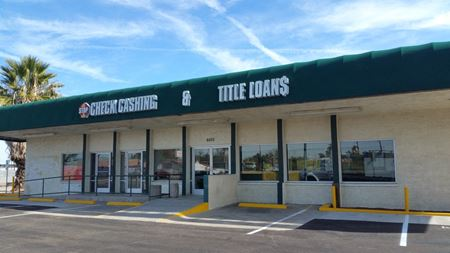 Former Check Cashing & Title Loans Building for Lease - Glendale