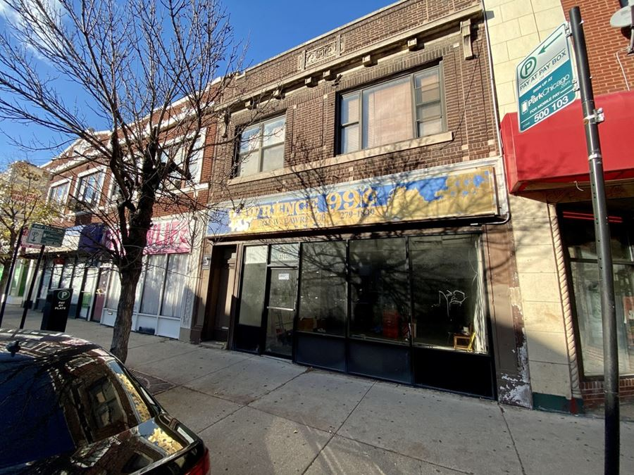 3244 W Lawrence - Two-Unit Mixed-Use Property in East Albany Park