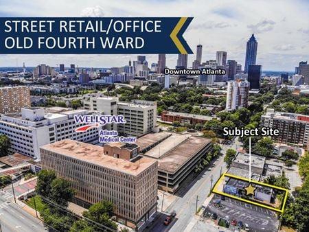 Street Retail/Office Building in Old Fourth Ward | 3,653 SF - Atlanta