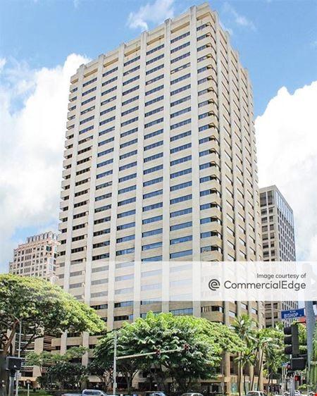 Bishop Square - American Savings Bank Tower - Honolulu