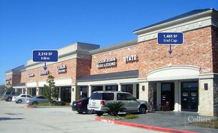 For Lease | The Shoppes at Sienna Plantation - Missouri City