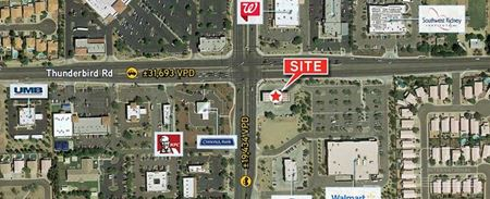 Hard Corner Retail Pad and Building for Lease in North Valley - Peoria