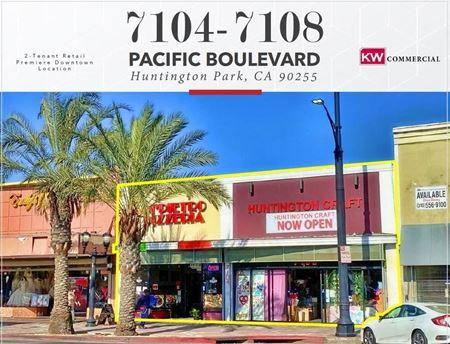 7104-7108 Pacific Blvd | Huntington Park, CA - Huntington Park
