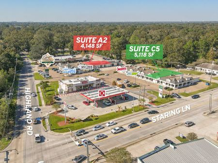 Retail Suites on Highly-Trafficked Corner of Highland Rd / Staring Ln - Baton Rouge