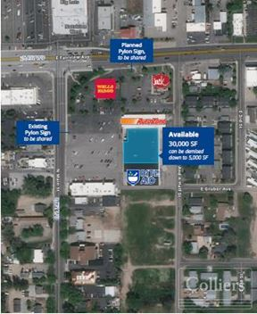 Located in the Heart of Downtown Meridian