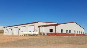 +/-13,400 SQ FT Shop + 1 APPROVED Mobile Home on +/- 15 Acres In Watford City - Watford City
