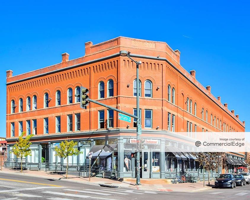 A.H. Root Building, Zang Building & 1537 Platte Street
